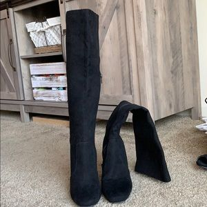 FOREVER 21 OVER THE KNEE BOOT